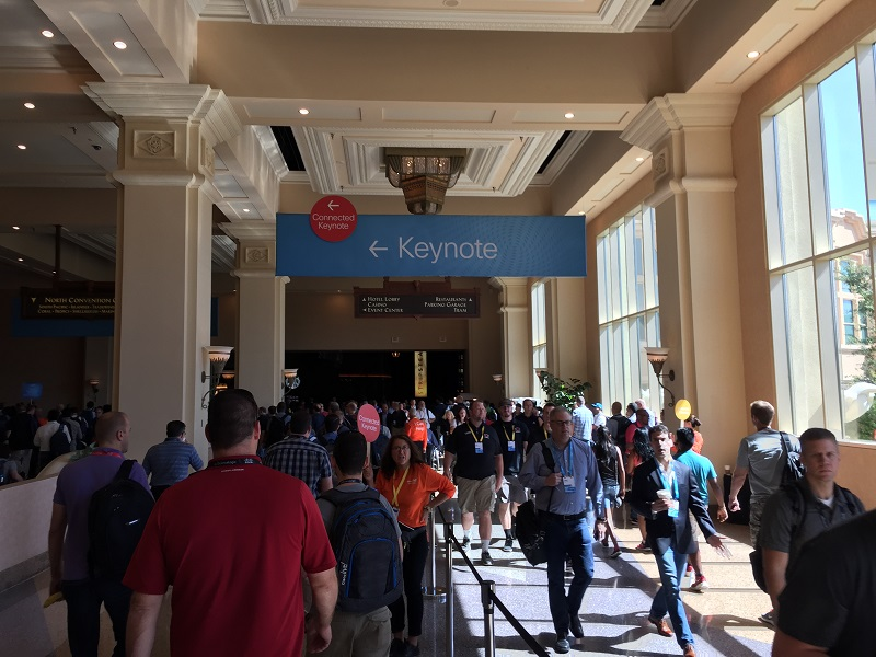 This way to the keynote