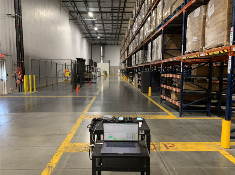 Validate warehouse Wi-Fi.